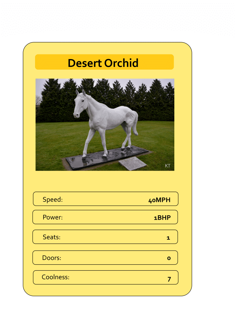Mega Trumps from The Daily Distress - Desert Orchid