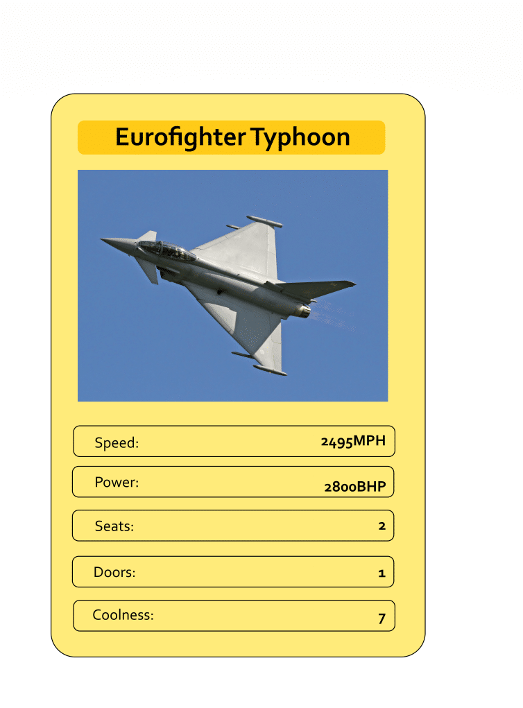Mega Trumps from The Daily Distress - Eurofighter