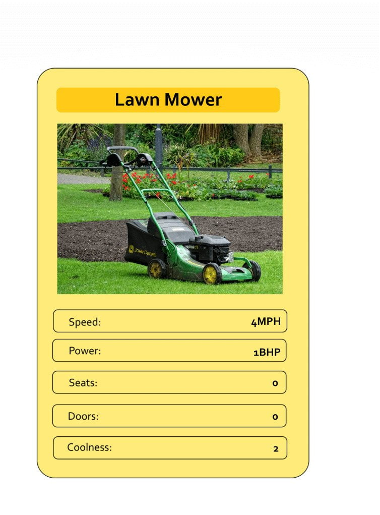 Mega Trumps from The Daily Distress - Lawn mower