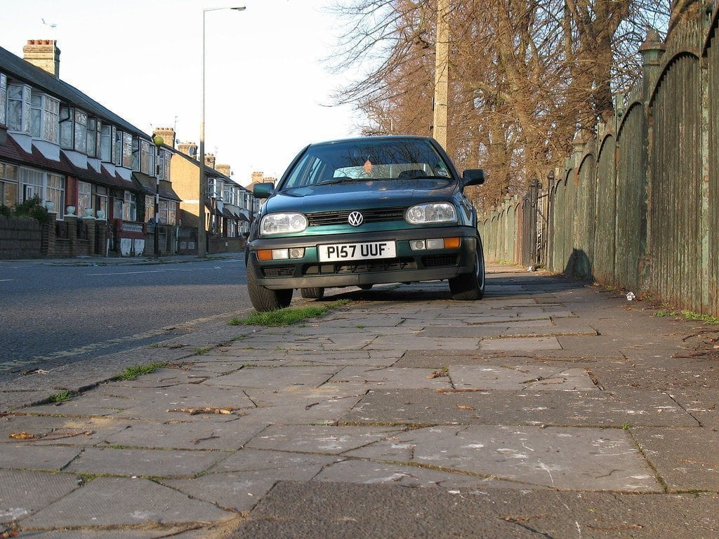 pavement parking